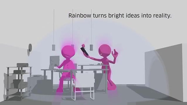 Alcatel-Rainbow – Make a Difference Together