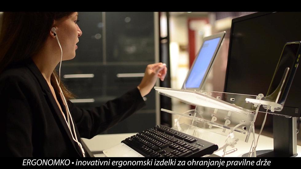 ERGONOMKO - Inovativni ergonomski izdelki za ohranjanje pravilne drže