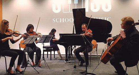 Emmeline Chloe Hadeli (8 Jahre) & Lev Quartet