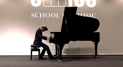 Dan Blank Bach-Siloti Prelude in B-minor. Swiss School of Music
