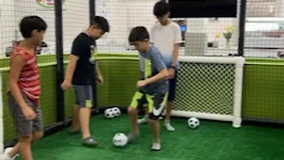 Enjoy a game of soccer with friends!
