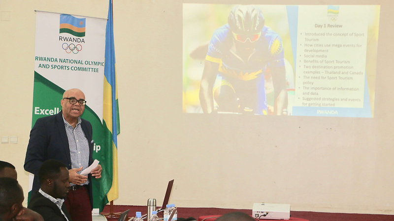 Rwanda Sports Marketing and Tourism Workshop in Rwanda
