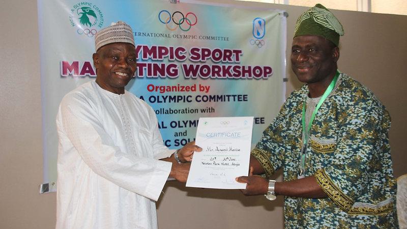 Nigerian Olympic Committee Sports Marketing Seminar