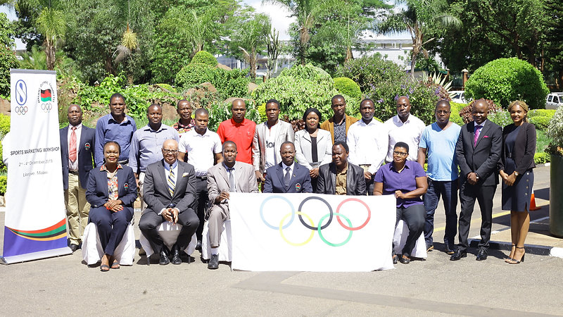 Malawi Olympic Committee Sports Marketing Workshop
