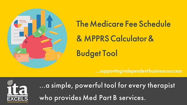 The Medicare Fee Schedule & MPPRS Calculator Tool