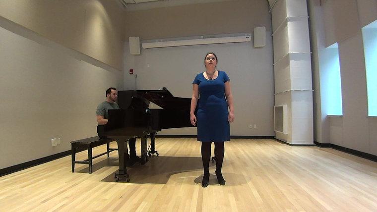 Lauren Bryant-Monk, Soprano, Che fiero momento