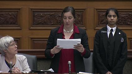 MPP Jessica Bell presents first batch of Legislative Petitions Dec. 09, 2019