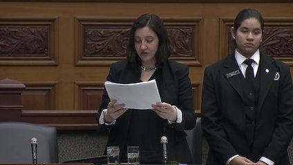 MPP Jessica Bell presents third batch of Legislative Petitons March 03, 2020