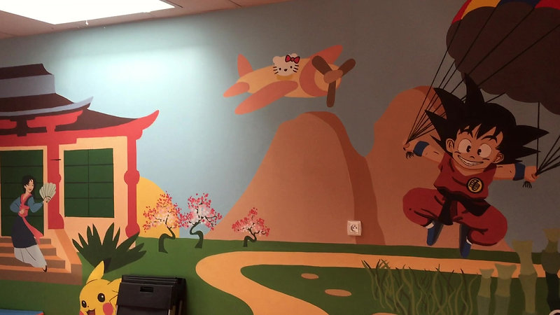 Visite du centre de Montagny avec nos fresques