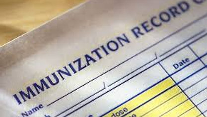 Adding Immunization Record