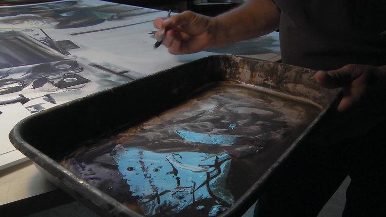 William Matthews: Drawn to Paint - Opening