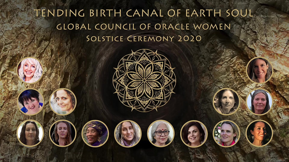 Tending Birth Canal of Earth Soul - Solstice Ceremony