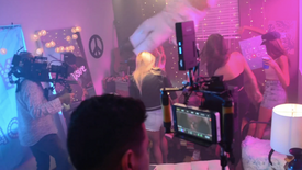 """Party"" MTV (Behind The Scenes)"