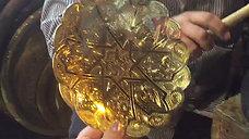 Egyptian Hand Made Brass Plates