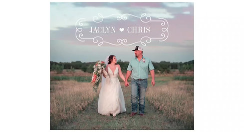Jaclyn & Chris Wedding 7-3-20