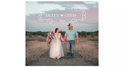Jaclyn & Chris Wedding 7-3-20