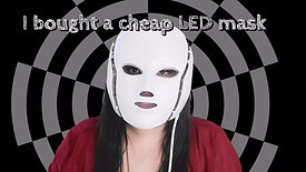 I bought a cheap LED mask from Amazon (1)