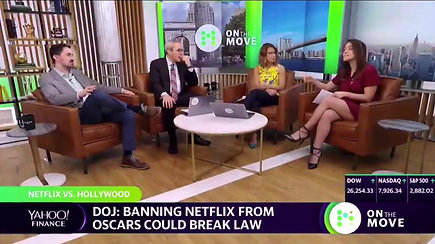 The DOJ Targets Netflix
