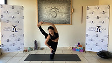 Visvamitrasana: Shin, Forearm & Standing Level 3
