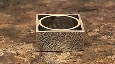 Bottlebee: Making a textured square ring
