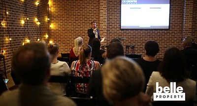 AVA x Chris Fox Belle Property Coorparoo Investor Evening