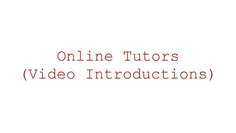Online Tutors (Video Introductions) - Semper Music Classes