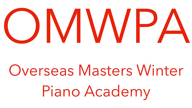 Overseas Masters Winter Piano Academy (OMWPA)