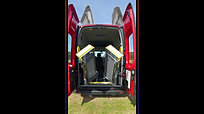 Renault Trafic with 5 seats (max inc driver) and 2 wheelchair positions
