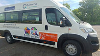 14 seats (inc driver), 4 removable, Provision for one occupied wheelchair