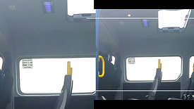 Movano 12 seats (max including driver). Provision for 2 occupied wheelchairs.
