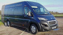 Peugeot Boxer Wheelchair Accessible Minibus with COVID screen