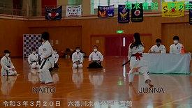 令和3年3月20日錬成会中学生決勝