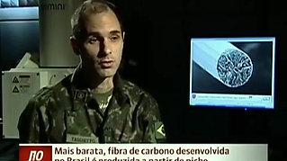 Fibra de carbono desenvolvida no Brasil