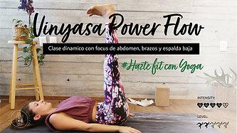 Vinyasa Power Flow-hazte fit con yoga y tonifica tu abdomen y brazos