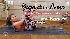 Vinyasa Flow-ohne Arme aktiv zu nutzen-Fokus Bauch und Beine