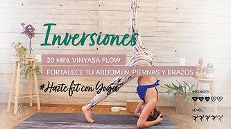 Inversiones-fortalece tus gluteos, piernas y brazos