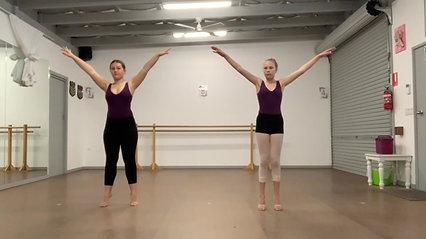 6. Spinal Curl & Arm Articulation