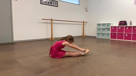 3. Hamstring & Spinal Stretch