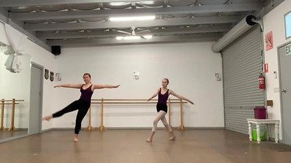 9. Leg Swing & Extension