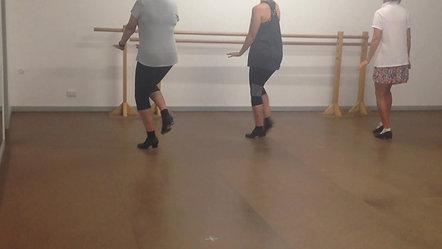 12. Pick Up Heel Drop Step