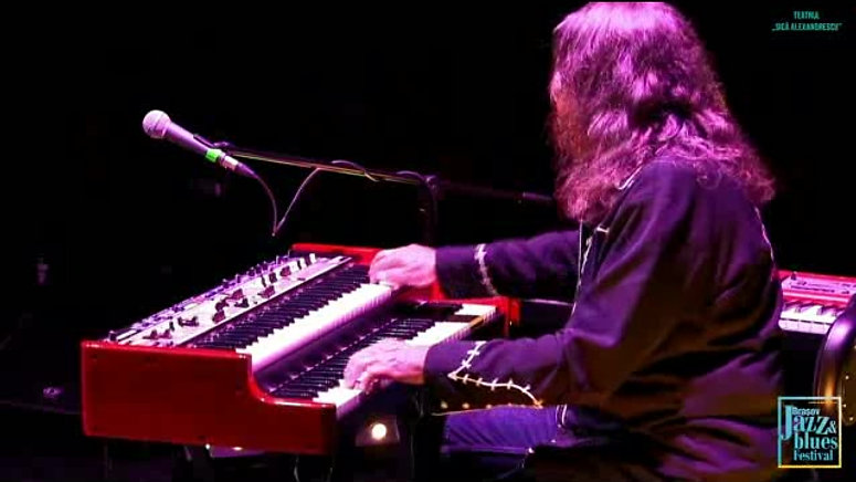 Bruce Katz Band 2019 at Brasov Blues Festival in Romania