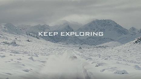 "Jeep - ""keep exploring"""