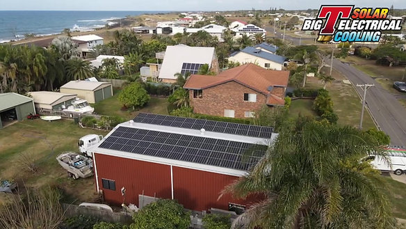 10kW Solar Install at Burnett Heads