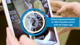 Cannabis Augmented Reality Campaign Promo