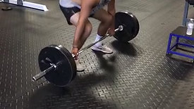 barbell Deadlift Resets