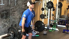 Barbell Power Cleans
