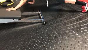Plank Single Arm Slide