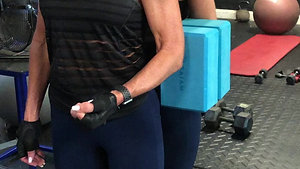 ISO Bent Arm Posterior Wall Press