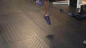 Standing Single Jump W: Anti Lateral Stick