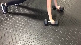 Dbell Lateral Plank Walk